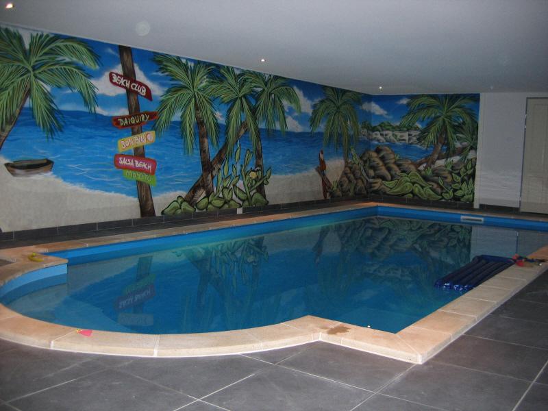 Rechthoekig zwembad 7 x 3 5 x 1 20 romeinse trap for Rechthoekig zwembad met pomp